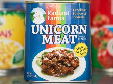 Carne di unicorno: la prelibatezza magica su Amazon
