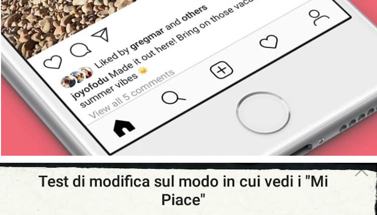 "Photo of Novità Instagram: i ""mi piace"" sono diventati segreti"
