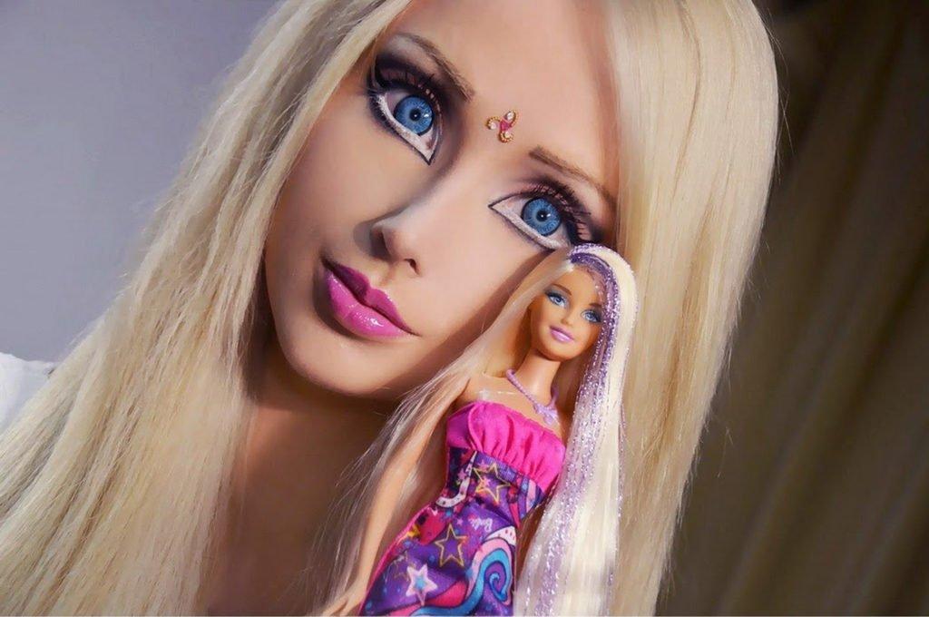 La barbie umana