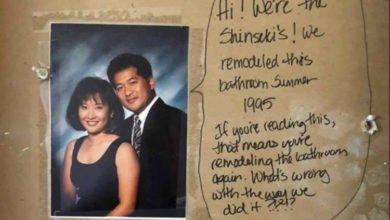 Photo of La storia di Alex e Jess Monney e del messaggio segreto trovato nel muro