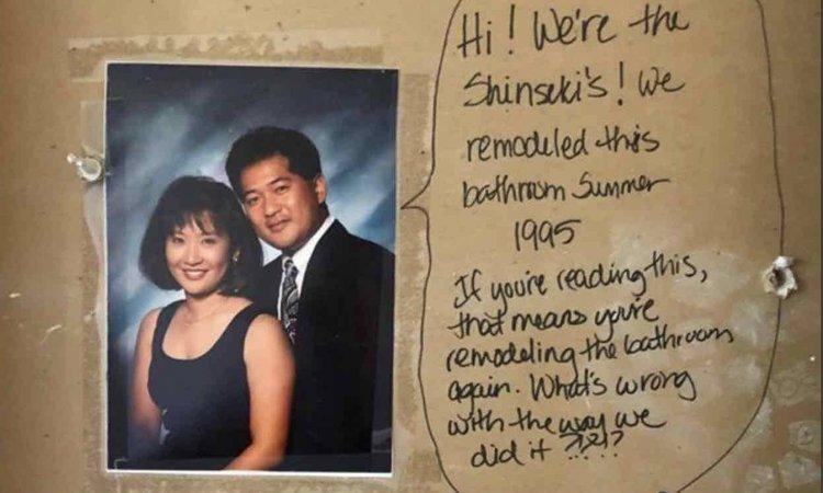 La storia di Alex e Jess Monney e del messaggio segreto trovato nel muro