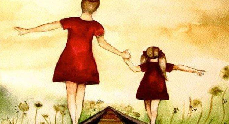 Madre forte se ce l'hai, allora sarai una grande persona anche te
