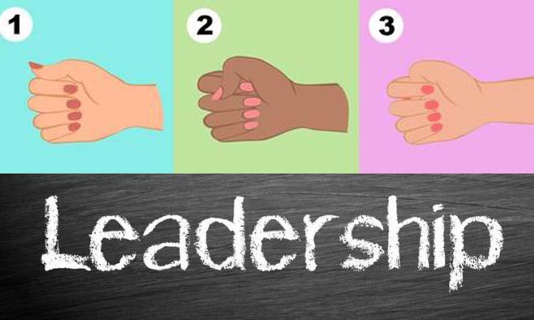 Il vostro pugno può dire molto riguardo alla vostra personalità da leader