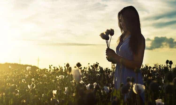 Le donne che amano le piante vivono di più