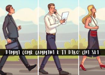 Modo di camminare e personalità ecco cosa dice di noi