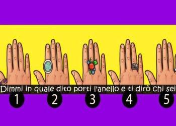 Anelli e personalità il dito nel quale c'è il gioiello dice qualcosa di voi