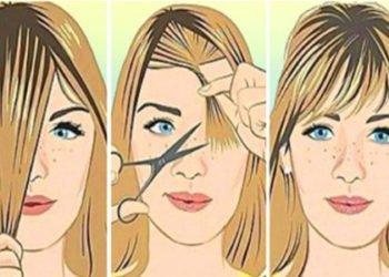 Tagliarsi i capelli da soli ecco tre tecniche per accorciarli o scalarli