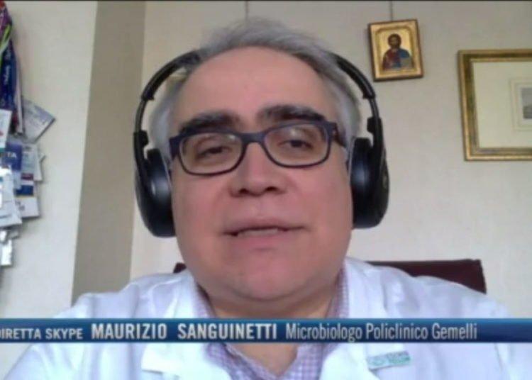 """""""La mascherina va messa sempre"""", l'opinione dell'infettivologo Sanguinetti"""