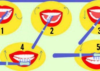 Come ti lavi i denti Scopri i tuoi pregi e i tuoi difetti in base alla risposta