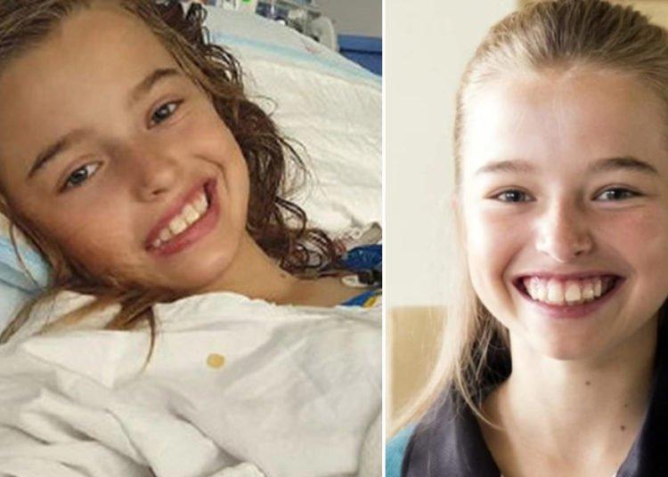 Milli Lucas, 12 anni, il tumore al cervello torna 3 volte arriva il lieto fine