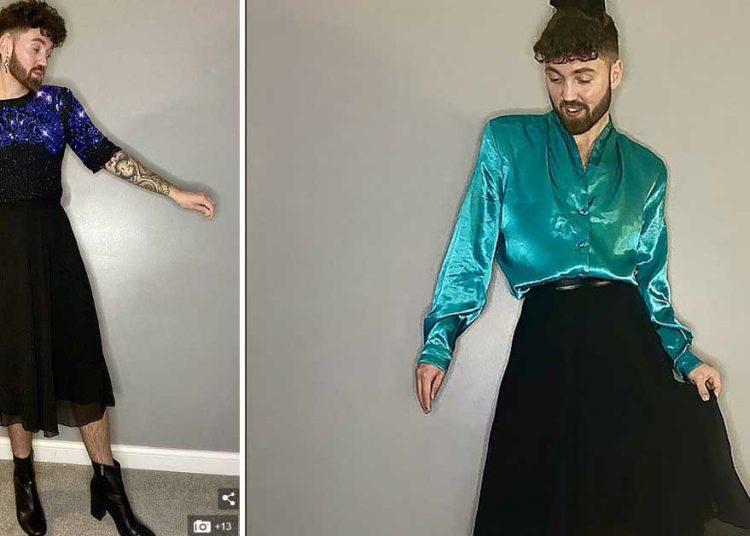 Connor Keaney, il ragazzo che indossa vestiti femminili perché sono materiali, non hanno genere