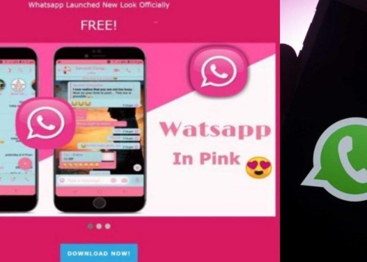 Arriva Whatsapp Pink, ma non è ciò che sembra ecco perché bisogna stare attenti